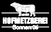 HOFMETZGEREI – Sonnenrüti Logo
